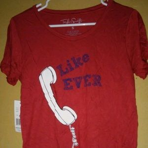"Womens Size Small Taylor Swift ""LIKE EVER"""